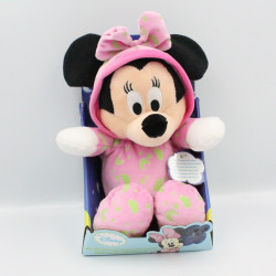 Doudou luminescent Minnie rose Brille dans la nuit DISNEY