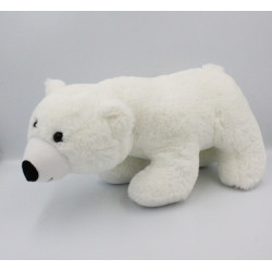 Peluche ours polaire blanc Logoprom CA CREDIT AGRICOLE