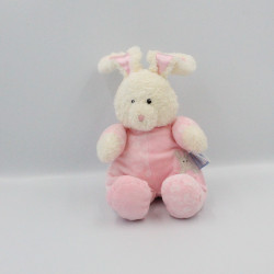 Doudou lapin blanc rose BABY GUND