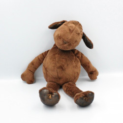 Doudou mouton agneau marron PRINTEMPS AUGUSTA DU BAY