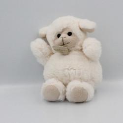 Doudou mouton blanc beige HISTOIRE D'OURS