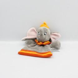 Doudou plat Dumbo l'éléphant gris orange jaune DISNEY NICOTOY