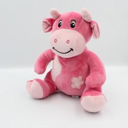 Doudou Hochet Vache rose Arthur et Lola BEBISOL