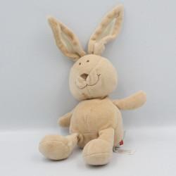 Doudou lapin beige MINIFEET CA