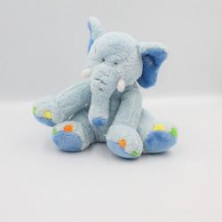 Doudou éléphant bleu GIPSY