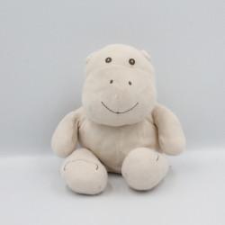 Doudou hippopotame beige MONOPRIX
