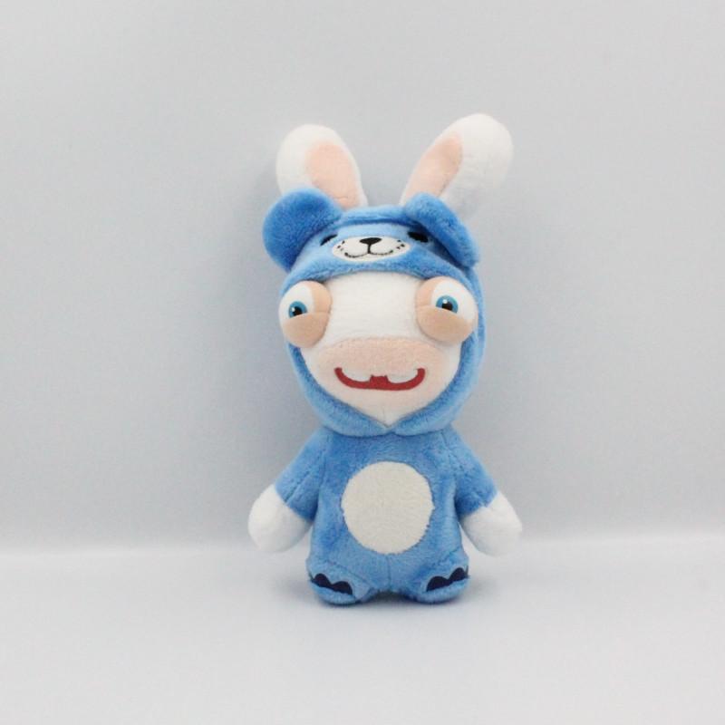 Peluche lapin crétin déguisé en ours bleu UBISOFT GIPSY