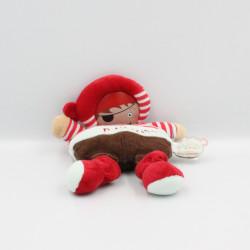 Doudou et compagnie poupée Les Bouilles Pirate P'tit Trésor