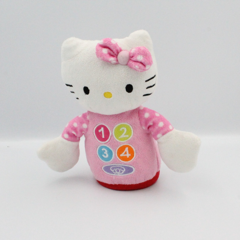 Doudou quille téléphone chat BABY HELLO KITTY