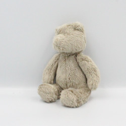 Doudou ours beige Basile et Lola MOULIN ROTY