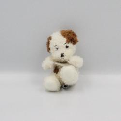Mini Doudou et compagnie chien blanc marron