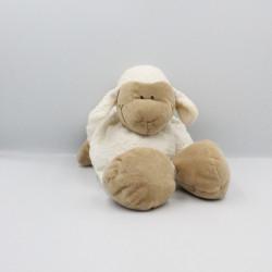 Doudou mouton blanc beige JOLLYBABY