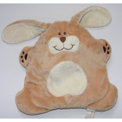 Doudou semi plat chien beige TIAMO COLLECTION