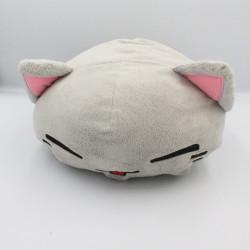 Doudou peluche coussin chat gris FURYU