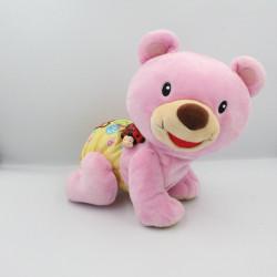 Peluche interactive ours rose 123 suis moi de VTECH