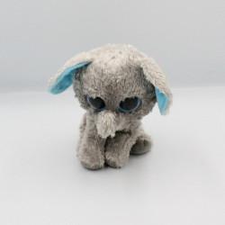 Peluche éléphant gris bleu TY INC