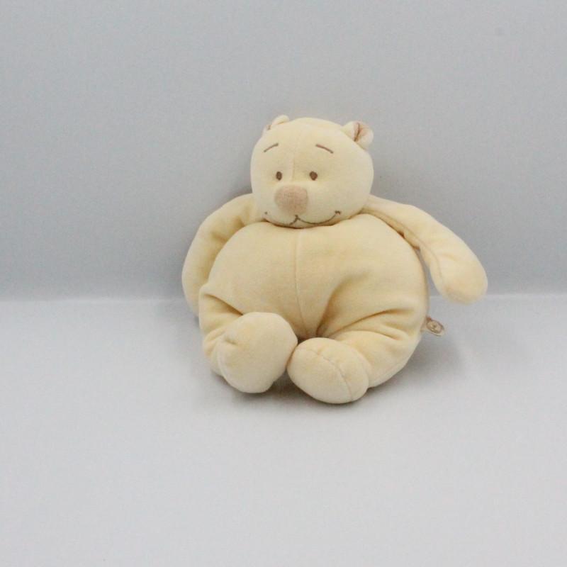 Doudou ours beige écru Tonton NOUKIE'S
