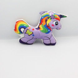 Doudou licorne mauve FOREST DISTRIBUTION
