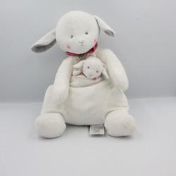 Doudou mouton agneau blanc...
