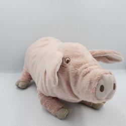 Doudou cochon rose IKEA