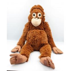Doudou peluche singe marron IKEA