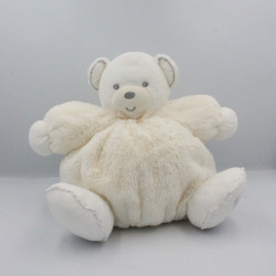 Doudou patapouf ours créme blanc PERLE KALOO