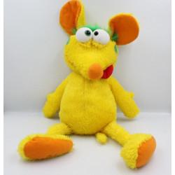 Peluche marionnette parlante souris jaune GIOCHI PREZIOSI