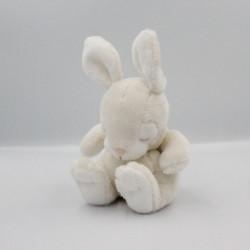Doudou lapin blanc H&M H ET M