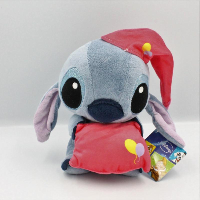 Peluche Stitch avec coussin et bonnet rouge Lilo et Stich DISNEY PTS SRL