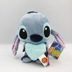 Peluche Stitch avec coeur bleu Lilo et Stich DISNEY PTS SRL