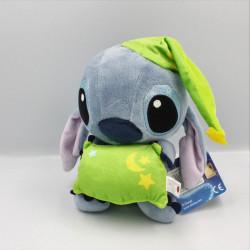Peluche Stitch avec coussin et bonnet vert Lilo et Stich DISNEY PTS SRL
