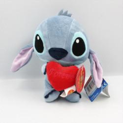 Peluche Stitch avec coeur rouge Lilo et Stich DISNEY PTS SRL