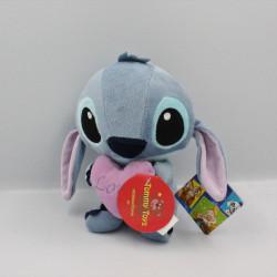Peluche Stitch avec coeur rose Lilo et Stich DISNEY PTS SRL