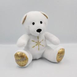 Doudou ours blanc or NOCIBE 2017