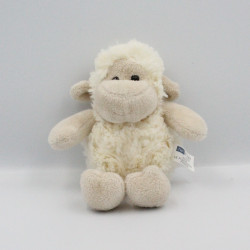 Doudou mouton blanc beige HAN