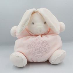 Doudou lapin boule rose perle KALOO