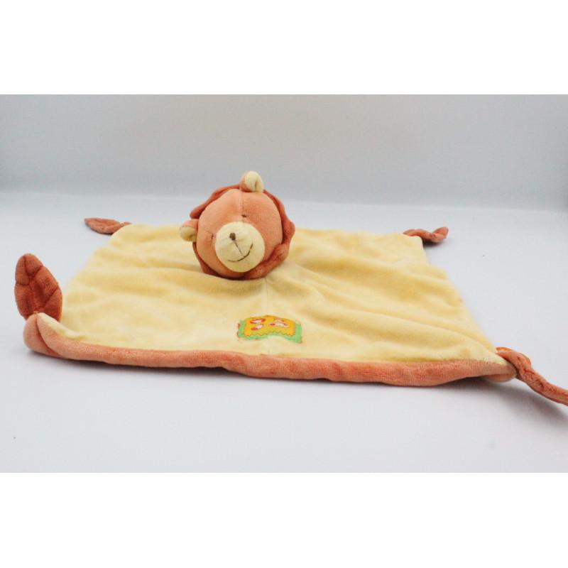 Doudou plat lion les Loustics MOULIN ROTY