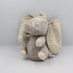 Doudou musical éléphant gris Dumbo NICOTOY