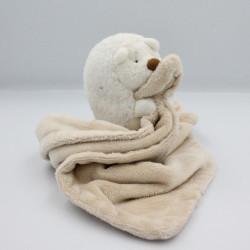 Doudou hérisson couverture mouchoir beige PRIMARK EARLY DAYS