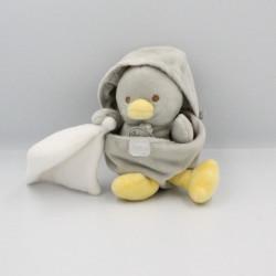 Doudou poussin gris coquille avec mouchoir BABY NAT
