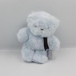 Doudou peluche ours mini baby bleu HISTOIRE D'OURS
