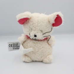 Doudou souris blanc rose Les P'tites Douceurs GLOBE TROTOYS