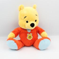 Doudou Winnie l'ourson rouge bleu DISNEY NICOTOY