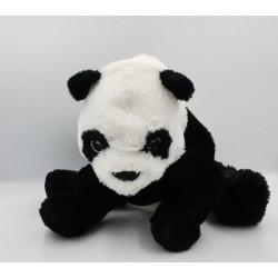 Doudou peluche panda noir blanc IKEA