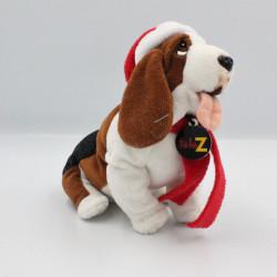 Peluche chien bonne de Noël TELE Z