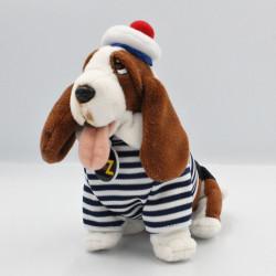 Peluche chien tenue marin TELE Z