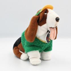 Peluche chien tenue golfeur TELE Z