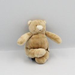 Mini Doudou ours beige Tonton Nouky NOUKIE'S