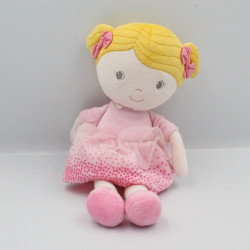 Doudou poupée robe rose pois SIMBA TOYS NICOTOY