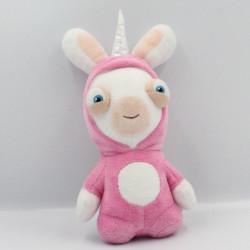 Peluche lapin crétin déguisé en licorne rose UBISOFT GIPSY